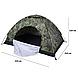 Палатка автоматическая D&T - 2,1 x 2,1 м  водонепроницаемая для кемпинга, рыбалки  Хаки, фото 2