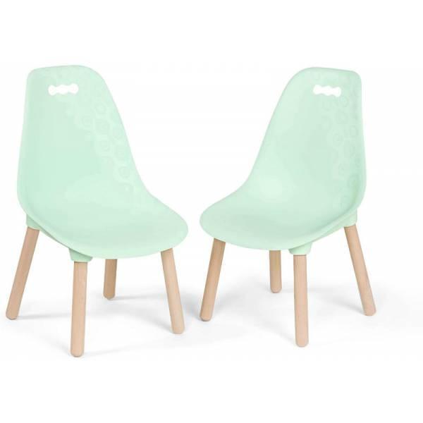 Battat Набор детских стульчиков Мятные BX1634Z Kid-Century Modern Trendy Toddler Chair Set