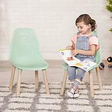 Battat Набор детских стульчиков Мятные BX1634Z Kid-Century Modern Trendy Toddler Chair Set, фото 3