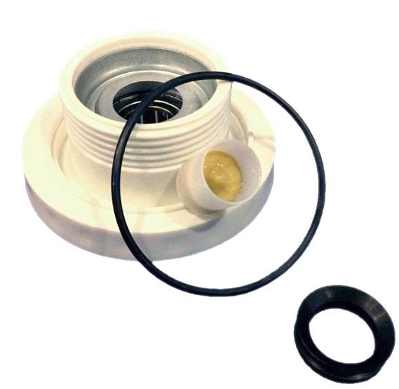 Блок підшипників (супорт) для пральної машини Electrolux, 6203 (ліва різьба) - 4071430971 / 4055129508