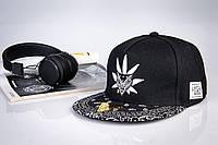 Снепбек черный мужской CAYLER SONS кепка, фото 1