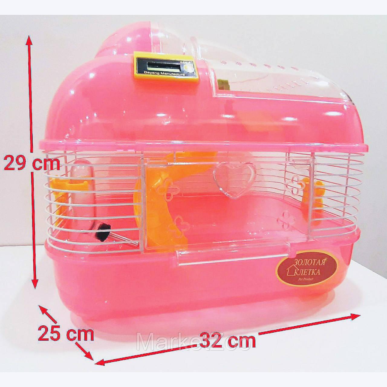 Клетка для грызунов М02 со счетчиком
