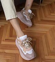 Женские кроссовки розовые SOFIMARAT  (40 размеры)