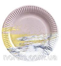 Одноразовые бумажные тарелки.18 см.10 шт.