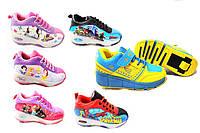 Роликовые кроссовки хилисы светящиеся для детей Flashing roller 32-36 размер