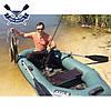 Човен надувний човен ЛТ-240А-ЄС з слань-килимком і зсувним сидінням двомісна, фото 7