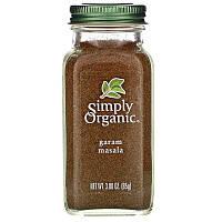 Simply Organic, Гарам масала, 85 г (3,00 унции)