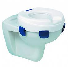 Туалетний підйомник CLIPPER ІІ з фіксаторами (сидіння надставка унітазу) Н=150 мм