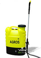 Обприскувач акумуляторний Agros 16l 8Ah