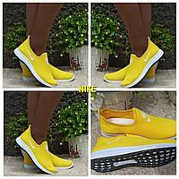 НОВИНКА! Женские летние кеды кроссовки Nike, комфортная мягкая подошва. Стильная и удобная модель.