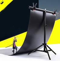 Стойка держатель для фона Stand 68×75 см крепление прищепками