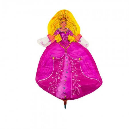 Шарик с палочкой (40см) Принцесса, фото 2
