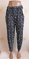 Летние тонкие брюки галифе султанки,  р.44-52