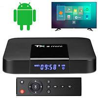 Медиаплеер Android Smart TV Box Amlogic S905W 2/16ГБ Tanix TX3 Mini A , фото 1