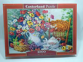 Пазлы 1000 элементов Castorland 103836 Время чаепития Натюрморт