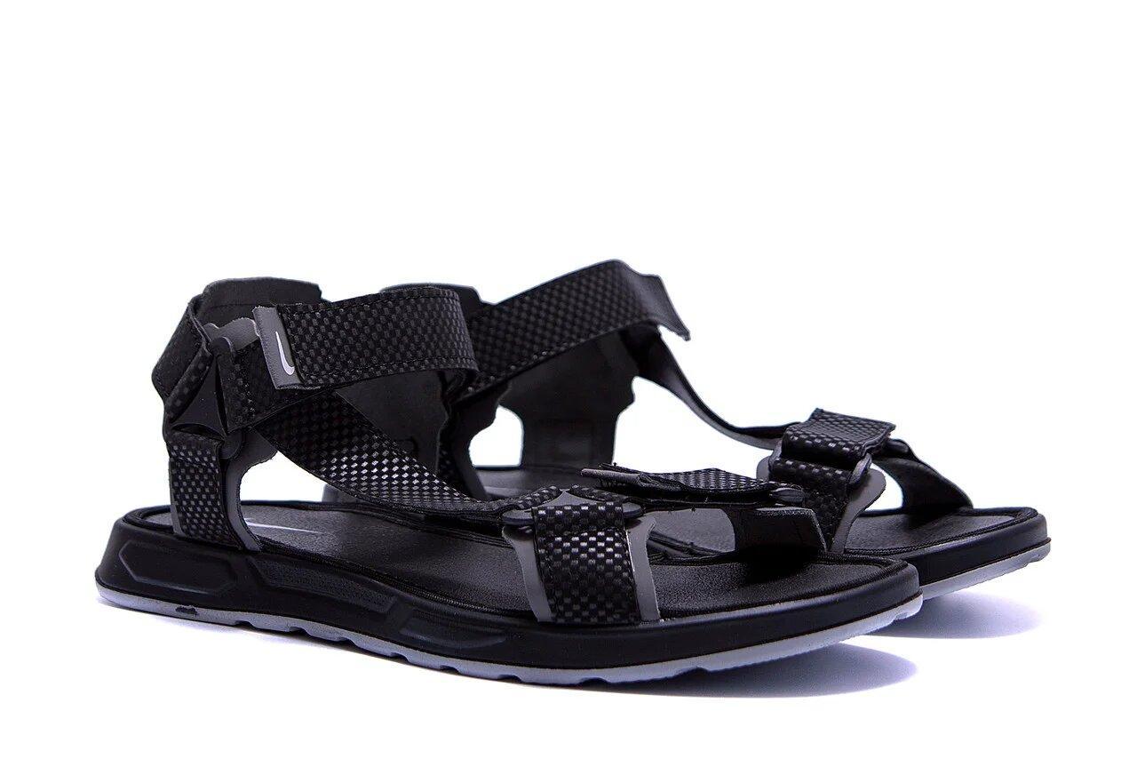 Мужские кожаные сандалии Nike Track Black  р  40 41 42 43 44 45