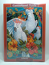 Пазлы 1500 элементов Castorland 151714 Тропическое трио
