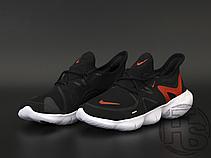 Чоловічі кросівки Nike Free RN 5.0 Black Red White AQ1289-009, фото 2