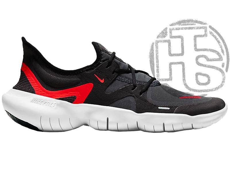 Чоловічі кросівки Nike Free RN 5.0 Black Red White AQ1289-009