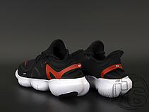 Мужские кроссовки Nike Free RN 5.0 Black White Red AQ1289-009, фото 3