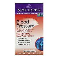 New Chapter, Поддержка артериального давления Take Care, 60 вегетарианских капсул