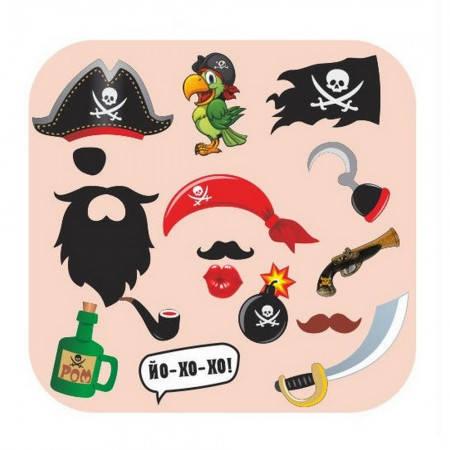 Фотобутафория Пират детская (16 предметов), фото 2