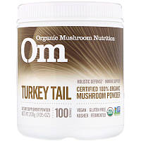 Organic Mushroom Nutrition, Трутовик разноцветный, грибной порошок, 200г (7,14унций)
