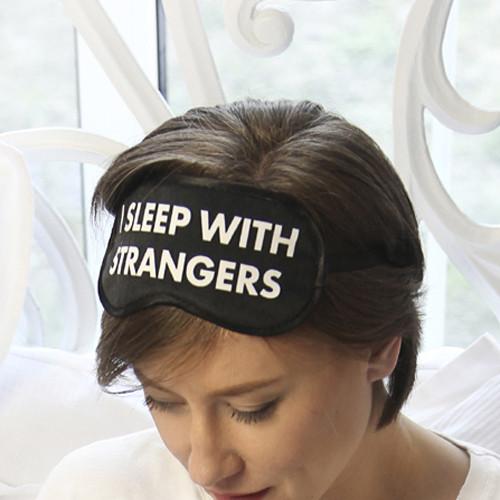 Маска для сна I sleep with strangers (MDS_19M007)