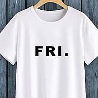 """Печать на футболках. Футболка с печатью """"Fri."""""""