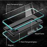 Магнитный металл чехол FULL GLASS 360° для Samsung Galaxy A51 /, фото 6
