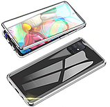 Магнитный металл чехол FULL GLASS 360° для Samsung Galaxy A51 /, фото 7