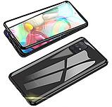Магнитный металл чехол FULL GLASS 360° для Samsung Galaxy A51 /, фото 8
