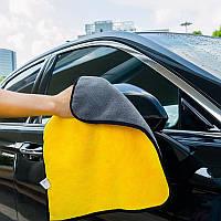 Полотенце, тряпка из микрофибры для авто / Салфетка для полировки авто / Микрофибра для авто, фото 1