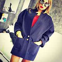 Пальто женское с итальянского саржевого кашемира
