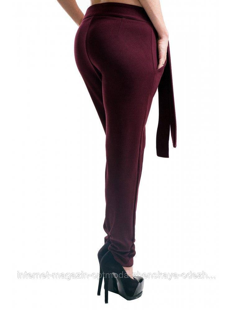 Женские брюки ассиметричные, крепдайвинг, 42, 44, 46, 48, 50