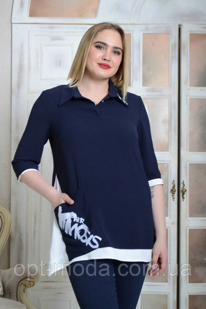 Большая блузка женская, женские блузки больших размеров