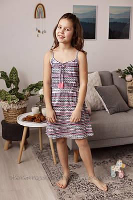"""Милое платье для девочек с орнаментом """"Cherry"""""""