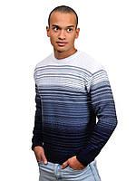 Теплый молодежный мужской свитер, размеры: M, L, XL, XXL, 70%шерсть 30% акрил