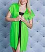 Жіноча пляжна накидка-халат, фото 3