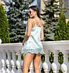 """Кружевная блуза, Шелк """"Армани"""", размер 42-44, 46-48, красный, мята, бордовый, молоко, фото 2"""