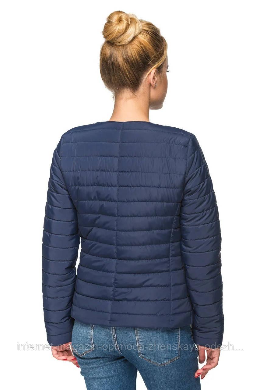 Короткая женская куртка весна