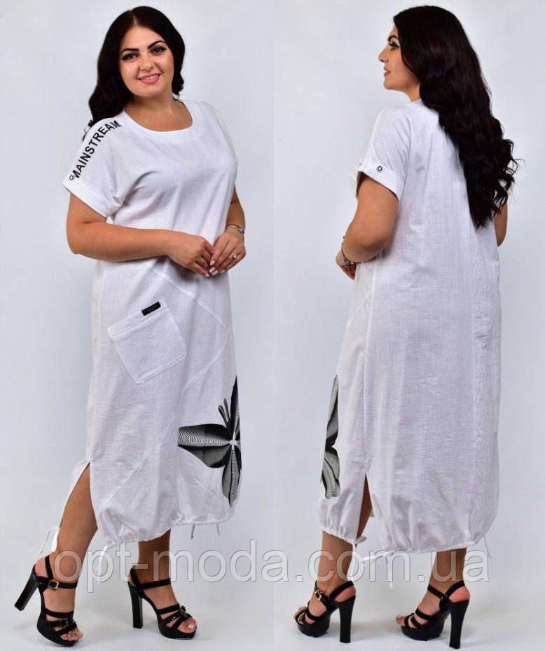 Льняное платье большого размера, 48 50 52 54 56 58 60,разные цвета, сукня для повних, льон
