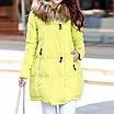 Черная зимняя куртка женская на синтепоне, 42/44, фото 10