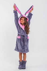 Детский халат с ушками и сапожками