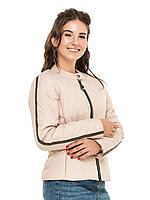 """Стильная женская облегающая демисезонная куртка больших размеров """"Диана"""""""