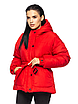 """Теплая женская зимняя куртка с поясом на пряжке """"Дорети"""", фото 2"""