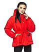 """Теплая женская зимняя куртка с поясом на пряжке """"Дорети"""", фото 3"""