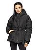 """Теплая женская зимняя куртка с поясом на пряжке """"Дорети"""", фото 5"""