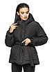 """Теплая женская зимняя куртка с поясом на пряжке """"Дорети"""", фото 6"""