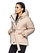 """Теплая женская зимняя куртка с поясом на пряжке """"Дорети"""", фото 8"""